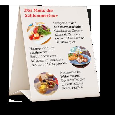SCHLOSSBLICK - Heidenheim, Stadt-Information, Schlemmertour
