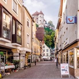SCHLOSSBLICK - Heidenheim, Pfluggasse