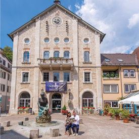 SCHLOSSBLICK - Heidenheim, Elmar-Doch-Haus, Altes Rathaus, Knöpfleswäscherin